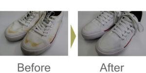 スニーカークリーニング布、合成皮革製b