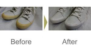 スニーカークリーニング布、合成皮革、本革f1