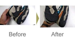 リペアスニーカー|カカト修理